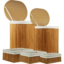 Bamboo Hampers and Baskets