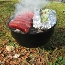 Portable Grill & Cooler Combo