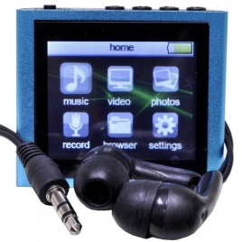 Polaroid PMP120-4 4GB USB 2.0 MP3 Digital Music/Video Player