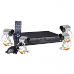 Q-See 4-Channel Network DVR Surveillance Kit