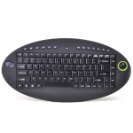 IOGear 87-Key 2.4GHz Wireless On-Lap Keyboard
