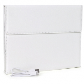 Bluetooth v3.0 Keyboard & Faux-Leather Binder Case for Apple iPad