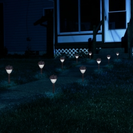 Westinghouse Premium Stainless Steel Solar Lights