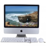 Apple iMac Aluminum Core 2 Duo E8135 2.4 GHz 20-inch System
