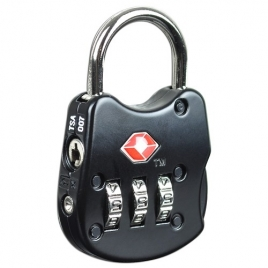 TSA Approved 3-Dial Combination Luggage Lock