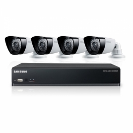 Samsung SDS-P3040N 4-Channel 500GB DVR Home Security System