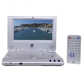 Digital Labs K725 8-Inch Rechargeable Widescreen Portable DVD Player