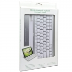 Bluetooth v3.0 Keyboard & Aluminum Case for Apple iPad 2, 3rd & 4th Gen