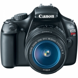 Canon EOS Rebel T3 12.2 MP EF-S 18-55mm IS II Lens Kit Digital SLR Camera