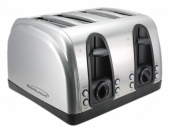 Brentwood TS445S 4 Slice Stainless Steel Toaster