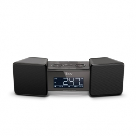 iLuv VibroBlue Bluetooth Wireless Speaker and Alarm Clock with Shaker