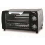 Golden Opportunity 4 Slice 9-Inch Pizza Toaster Oven - Stainless Steel