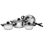 Ragalta PureLife 7-Piece Stainless Steel Cookware Set