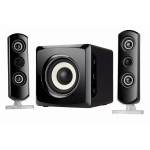 Sylvania 2.1 Channel Bluetooth Home/Computer Speaker System