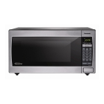 Panasonic 1.6 Cubic Foot Stainless Steel Microwave with Inverter Technology
