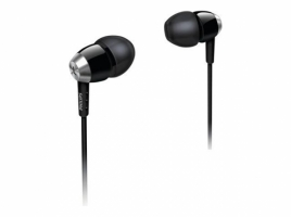 Philips In-Ear Headphones, Black