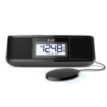 iLuv TimeShaker® Micro Bluetooth® FM Stereo Clock Radio with Pillow Shaker