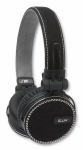 iLuv ReF™ iHP636 Deep Bass High Performance On-Ear Headphones with Canvas Exterior and Mic