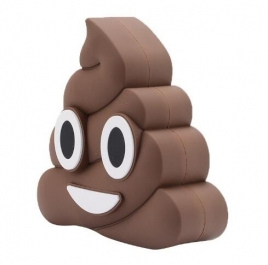 Strong N'Free Emoji Poop 2,600mA Power Bank