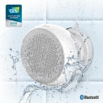 iLuv IPX4 Bluetooth Enabled Shower Speaker